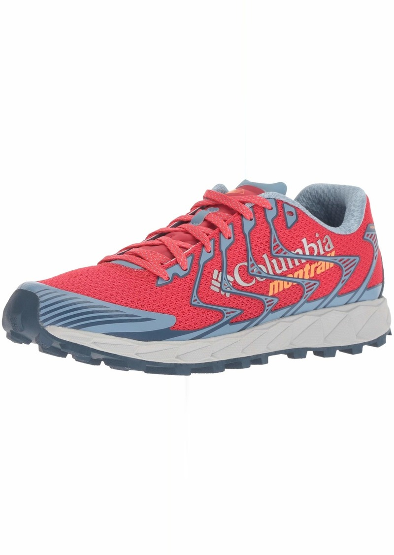 Columbia Women's Rogue F.K.T. II Hiking Shoe red Camellia Jupiter  Regular US