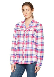 Columbia Women's Simply Put Ii Flannel Shirt  XS