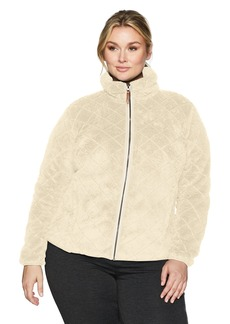 Columbia Women's SizeFire Plus Size Fire Side Sherpa Full Zip Jacket