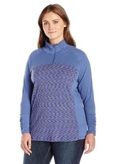 Columbia Women's SizeOuterspaced Plus Size Outerspaced Ii Half Zip Jacket