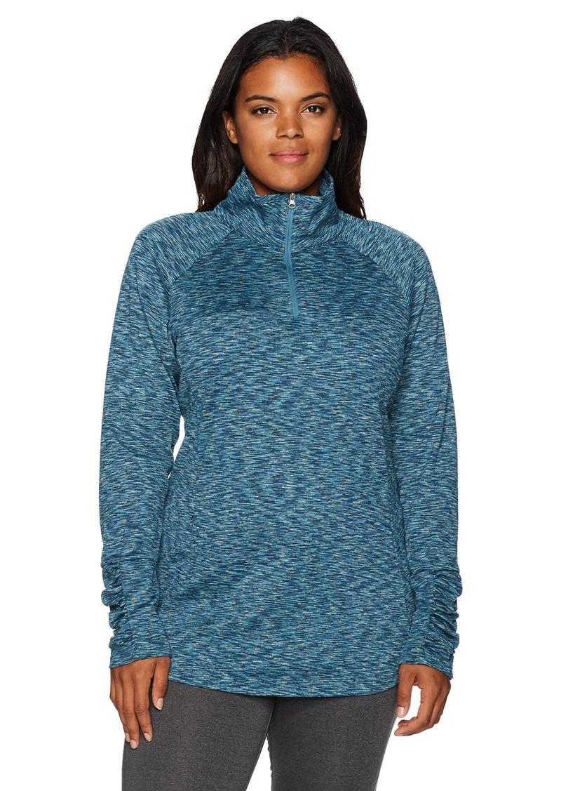 Columbia Women's SizeOuterspaced Plus Size Outerspaced III Half Zip Jacket