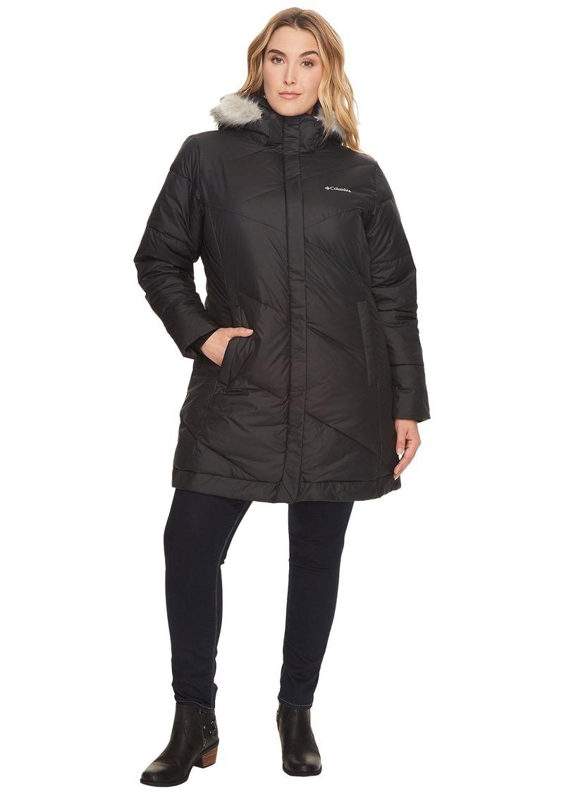 Columbia Women's SizeSnow Plus Size Snow Eclipse Mid Length Jacket