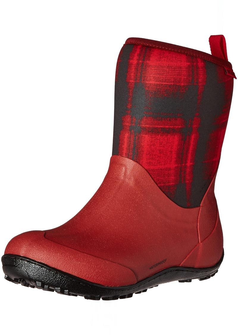 Columbia Women's Snowpow Mid Print Omni-Heat Snow Boot   B US