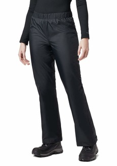 "Columbia Women's Storm Surge Waterproof Rain Pant   x 32"" Inseam"