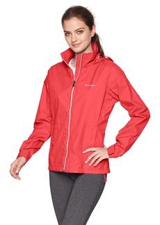 Columbia Women's Switchback III Adjustable Waterproof Rain Jacket red Camellia