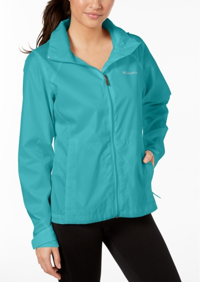 Columbia Women's Switchback Waterproof Packable Rain Jacket