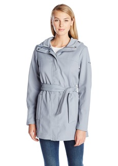 Columbia Women's Take To The Streets Trench Tradewinds Grey