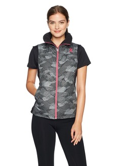 Columbia Women's Tested Tough in Pink Mix It Around Vest  XL