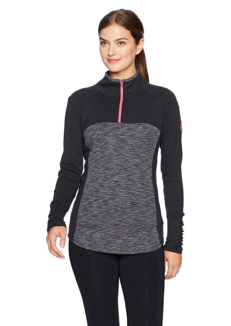 Columbia Women's Tested Tough in Pink Outerspaced Half Zip Jacket  L