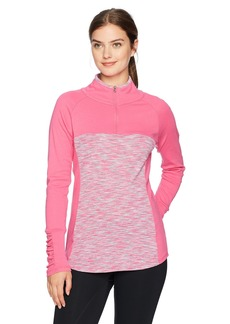 Columbia Women's Tested Tough in Pink Outerspaced Half Zip Jacket  XS