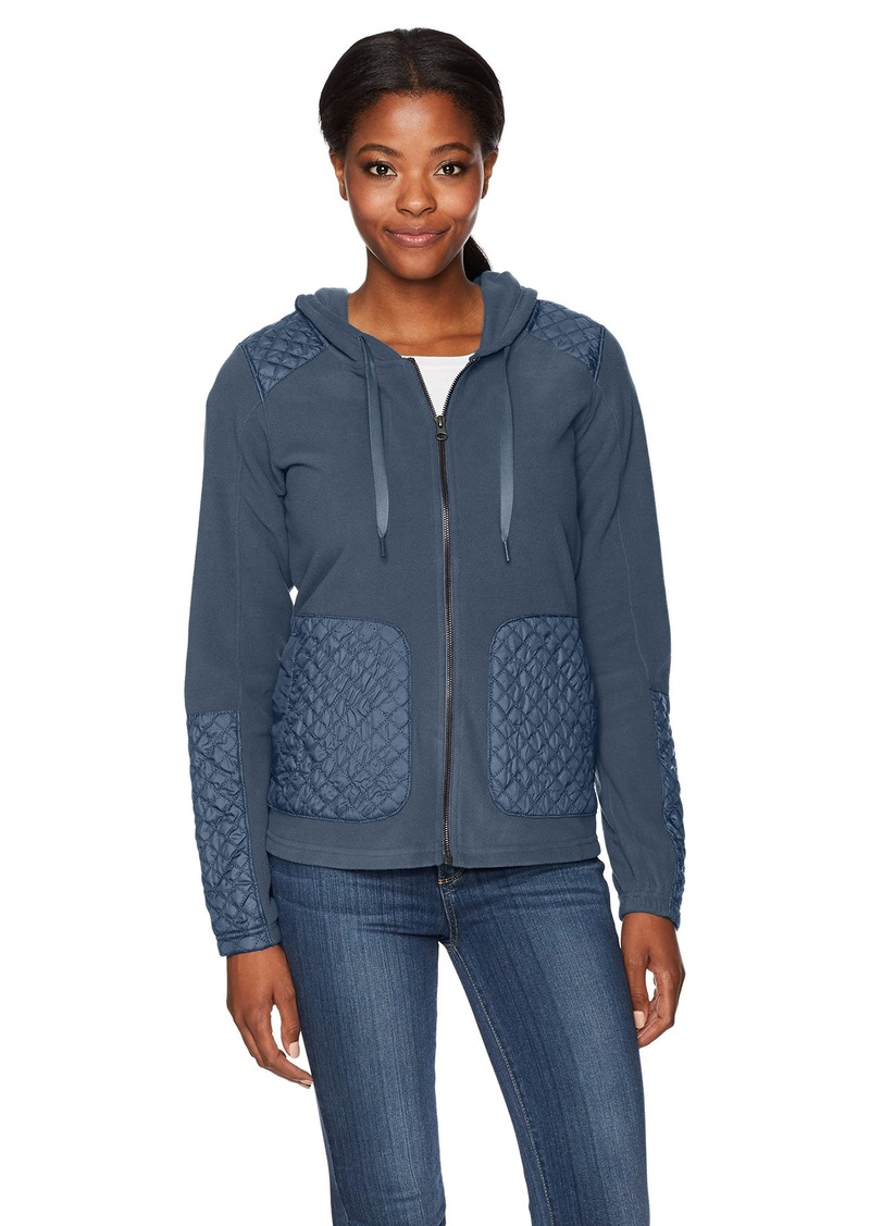 Columbia Women's Warm Up Hooded Fleece Full Zip Jacket  XL