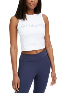 Columbia Women's Windgates Logo Cropped Sleeveless Top