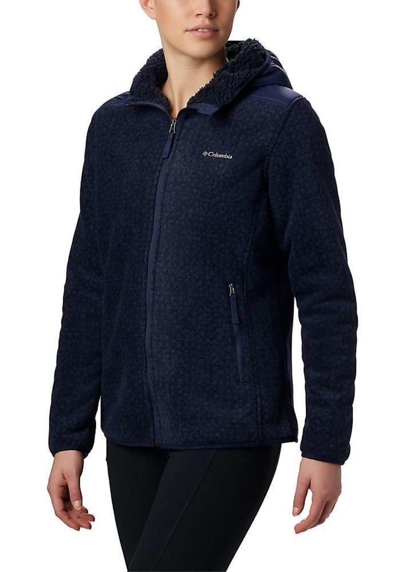 Columbia Women's Winter Pass Print Fleece Full Zip