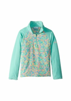Columbia Glacial™ II Fleece Print Half Zip (Little Kids/Big Kids)