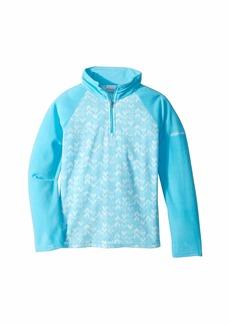 Columbia Glacial™ II Fleece Print Half Zip (Little Kids/Big Kids)