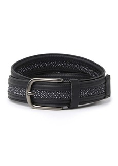 Columbia Leather Wrappd Edge Web Belt