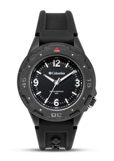 Columbia Men's Analog Silicone Strap Watch, 46mm