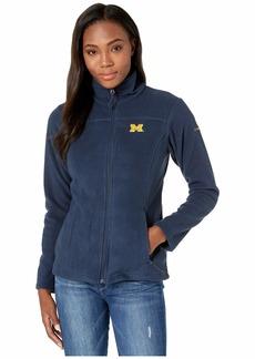 Columbia Michigan Wolverines CLG Give and Go™ II Full Zip Fleece Jacket