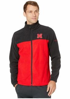 Columbia Nebraska Cornhuskers CLG Flanker™ III Fleece Jacket