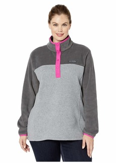 Columbia Plus Size Benton Springs™ 12 Snap Pullover