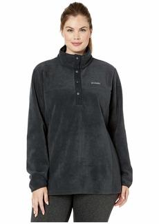 Columbia Plus Size Benton Springs™ 12 Snap Pullover