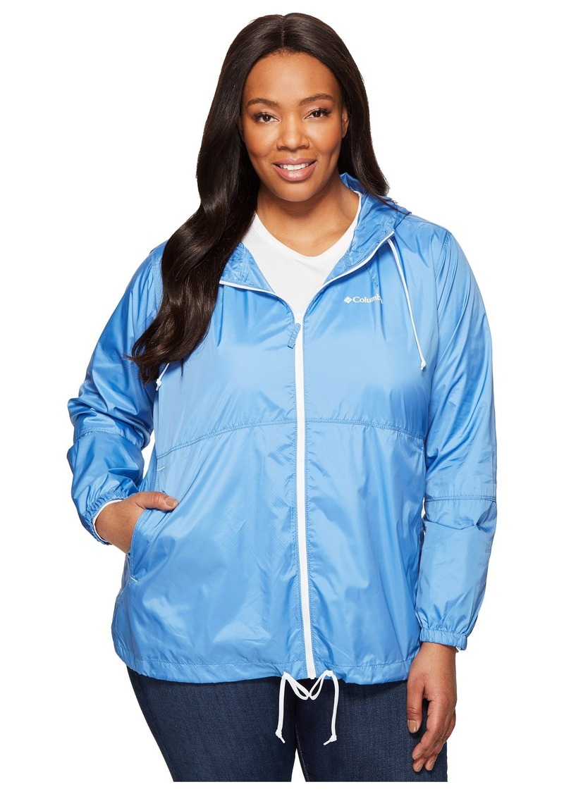 f5d3f05e4ac Columbia Plus Size Flash Forward Windbreaker