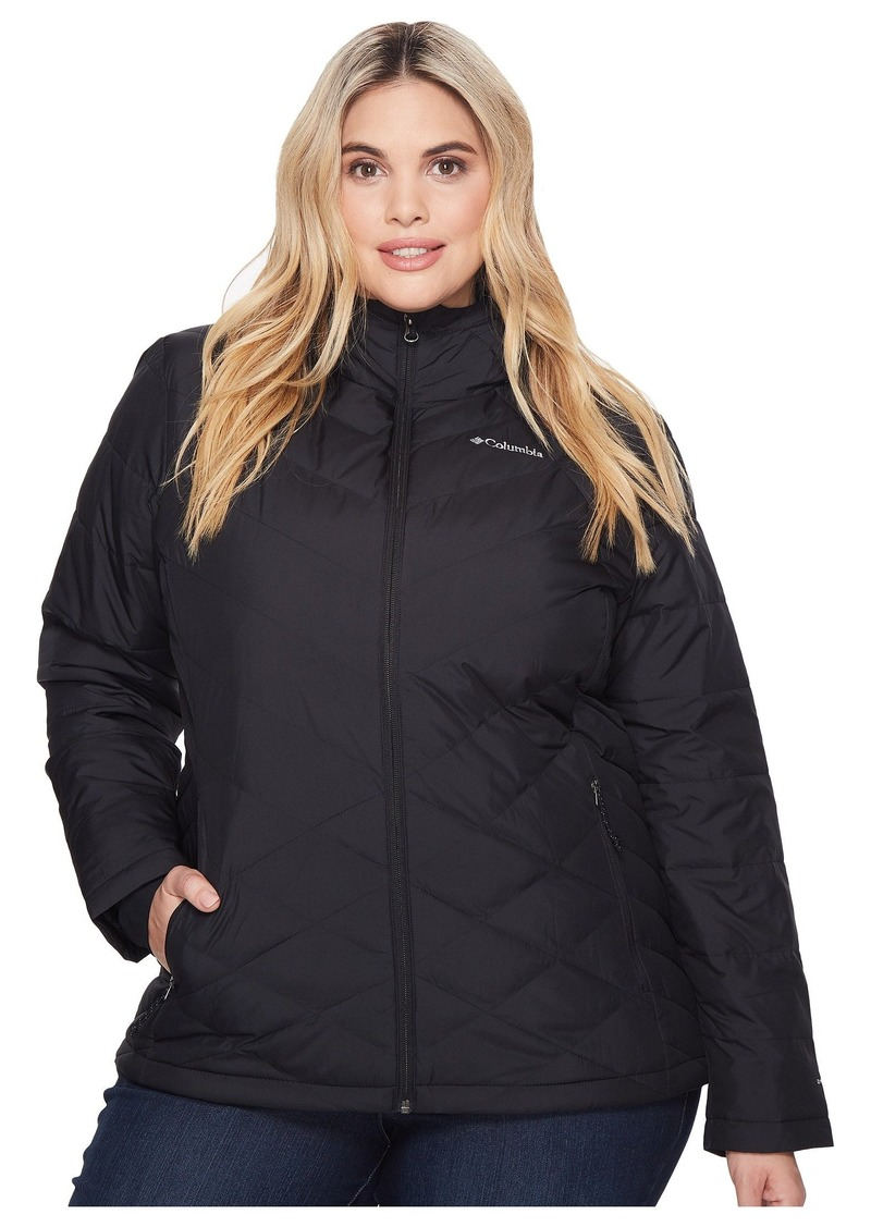 Columbia Plus Size Heavenly Hooded Jacket