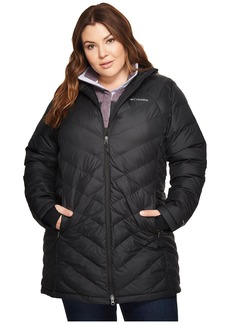 Columbia Plus Size Heavenly Long Hooded Jacket