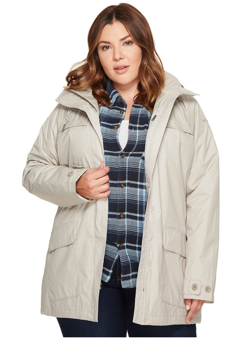 79558f77f10 Columbia Plus Size Lookout Crest Jacket Now  82.09