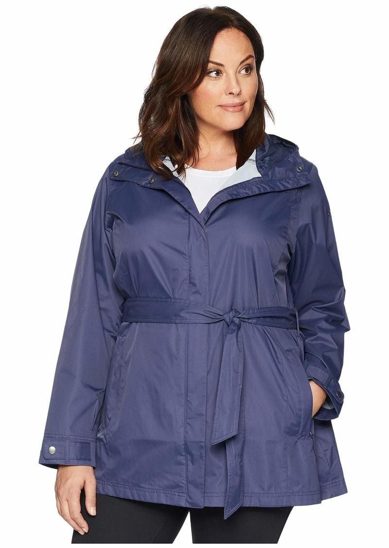 54685b0e75a Columbia Plus Size Pardon My Trench™ Rain Jacket