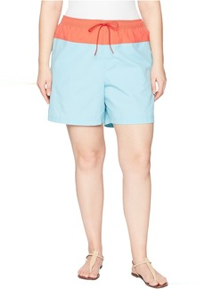 Columbia Plus Size Sandy River™ Color Blocked Shorts