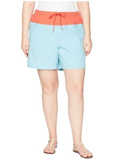 Columbia Plus Size Sandy River™ Color Blocked Shorts