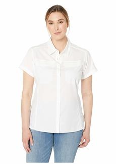 Columbia Plus Size Silver Ridge™ Lite Short Sleeve Shirt