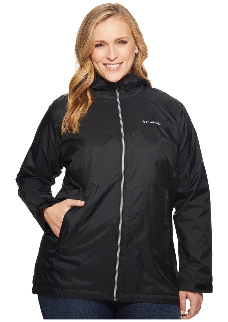 Columbia Plus Size Switchback™ Lined Long Jacket