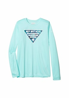 Columbia Terminal Tackle™ Triangle Fill Long Sleeve Shirt (Little Kids/Big Kids)
