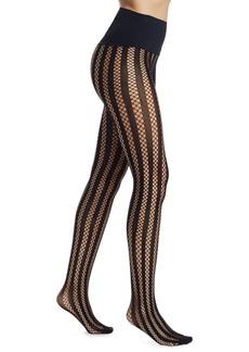 Commando Bold Stripe Net Tights