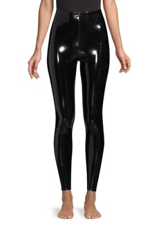 Commando Classic Faux-Patent Leather Leggings