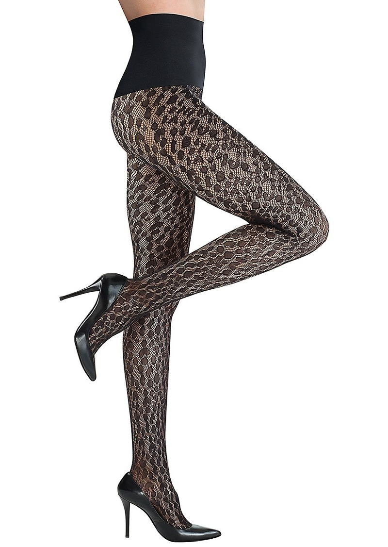 Commando + The Leopard Net Tights