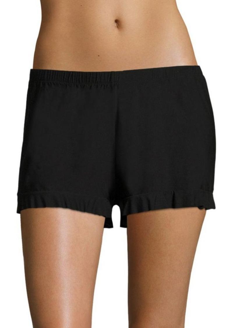 Commando Butterfly Ruffled Shorts