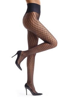 Commando Channel Net Fishnet Tights