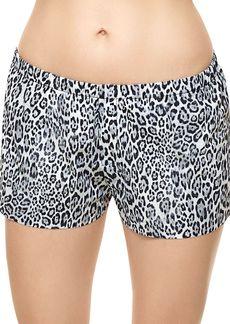 Commando Classic Leopard-Print Boxer Shorts