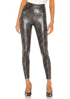Commando Faux Leather Animal Legging