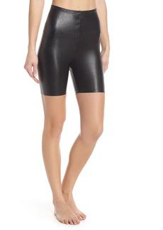Commando Faux Leather Bike Shorts