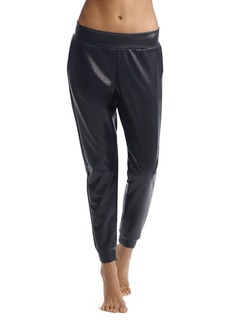 Commando Faux Leather Jogger Leggings
