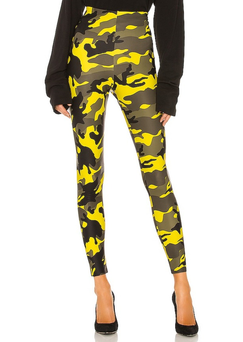 Commando Faux Leather Print Leggings