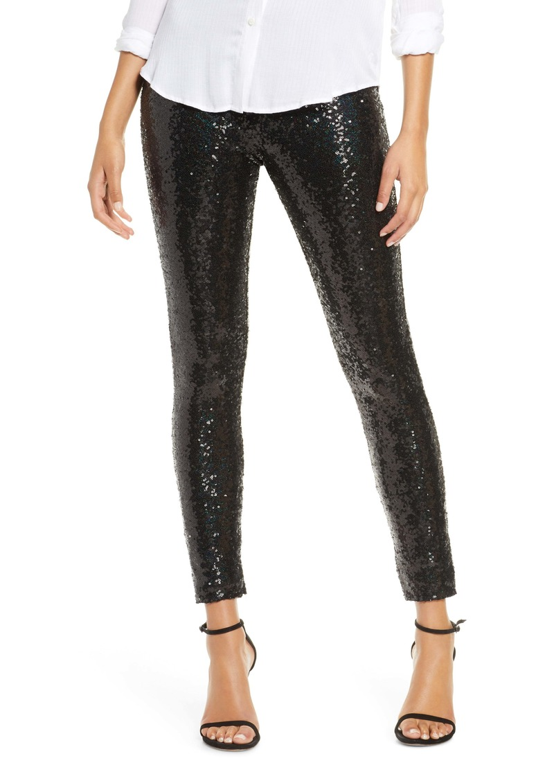 Commando High Waist Sequin Leggings