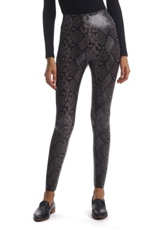 Commando Reptile Embossed Faux Leather Leggings