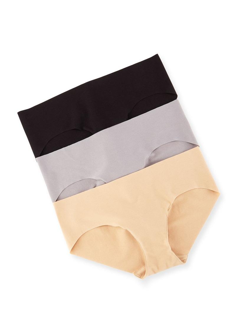 93243298ef Commando Commando Three-Pack Cotton Bikini Briefs