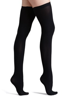 Commando Up All Night Opaque Thigh Highs