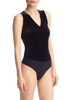 Commando Velvet Thong Bodysuit